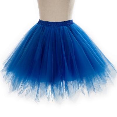 Charming Tulle Short A-line Mini Skirts | Elastic Women's Skirts_18