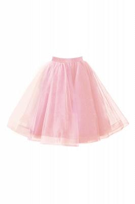 Alluring Tulle Short A-line Skirts   Elastic Women's Skirts_2