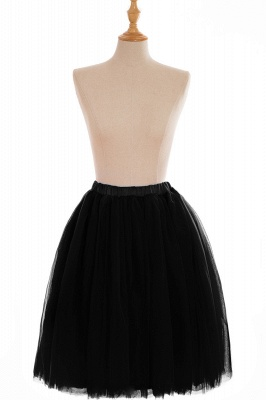 Nifty Short A-line Mini Skirts   Elastic Women's Skirts_15