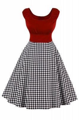 Wonderful Scoop Cap-Sleeves A-line Fashion Dresses | Knee-Length Women's Dresses_1