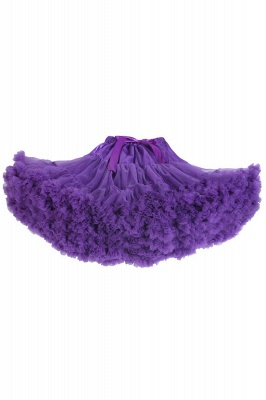 Marvelous Tulle Mini A-line Skirts | Elastic Bowknot Women's Skirts_7