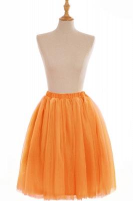 Nifty Short A-line Mini Skirts   Elastic Women's Skirts_9