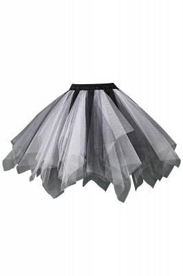 Charming Tulle Short A-line Mini Skirts | Elastic Women's Skirts_2