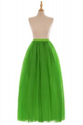 Glamorous A-line Floor-Length Skirt | Elastic Women's Skirts_17