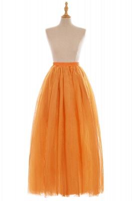 Glamorous A-line Floor-Length Skirt | Elastic Women's Skirts_9