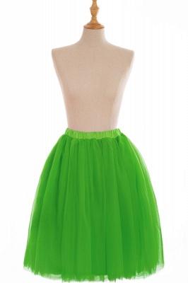 Nifty Short A-line Mini Skirts   Elastic Women's Skirts_18