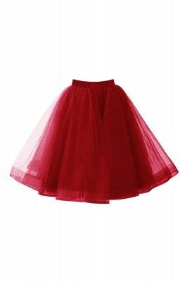 Alluring Tulle Short A-line Skirts   Elastic Women's Skirts_3
