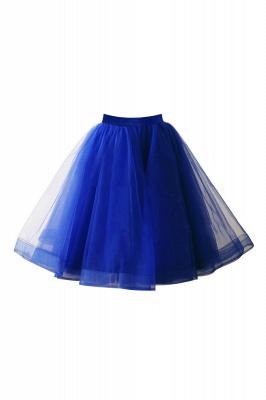 Alluring Tulle Short A-line Skirts   Elastic Women's Skirts_13
