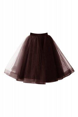 Alluring Tulle Short A-line Skirts   Elastic Women's Skirts_5