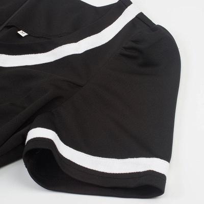 Fascinating A-line Belted Short Sleeve Jewel Polk-Dot Women's Dresses   Knee-Length Fashion Dress_10