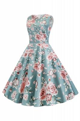 Wonderful Scoop Sleeveless A-line Zipper Fashion Dresses | Knee-Length Women's Dresses_7