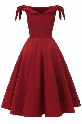 Womens Bateau Burgundy Navy Ruby Vintage Dresses_12