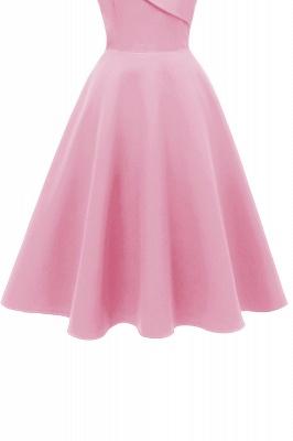 Stunning Spaghetti Straps Sleeveless Princess Vintage Dresses_10