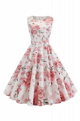 Wonderful Scoop Sleeveless A-line Zipper Fashion Dresses | Knee-Length Women's Dresses_2
