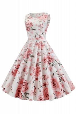 Wonderful Scoop Sleeveless A-line Zipper Fashion Dresses | Knee-Length Women's Dresses_15