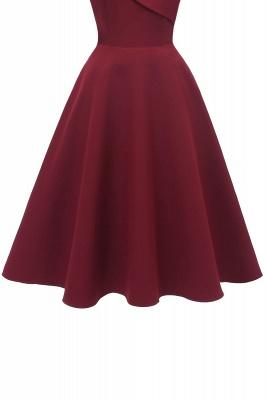 Stunning Spaghetti Straps Sleeveless Princess Vintage Dresses_14
