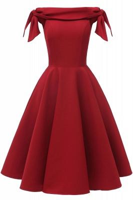 Womens Bateau Burgundy Navy Ruby Vintage Dresses_8