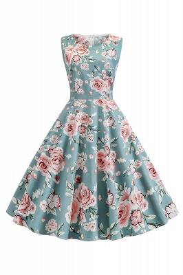 Wonderful Scoop Sleeveless A-line Zipper Fashion Dresses | Knee-Length Women's Dresses_3