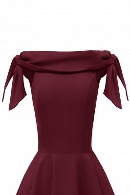 Womens Bateau Burgundy Navy Ruby Vintage Dresses_25