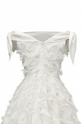 Stunning A-line Artificial Fur Retro Short Party Dress_19