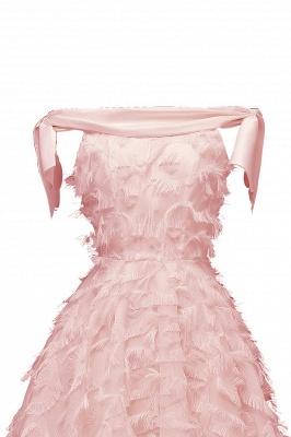 Stunning A-line Artificial Fur Retro Short Party Dress_9