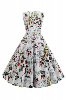 Wonderful Scoop Sleeveless A-line Zipper Fashion Dresses | Knee-Length Women's Dresses_9