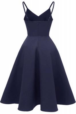 Stunning Spaghetti Straps Sleeveless Princess Vintage Dresses_17