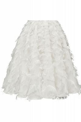 Stunning A-line Artificial Fur Retro Short Party Dress_18