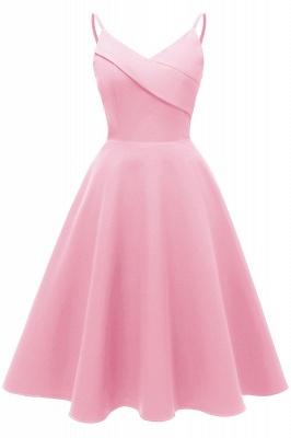 Stunning Spaghetti Straps Sleeveless Princess Vintage Dresses_1