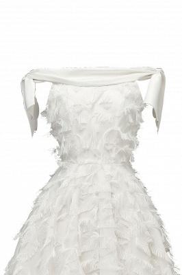 Stunning A-line Artificial Fur Retro Short Party Dress_17