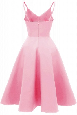 Stunning Spaghetti Straps Sleeveless Princess Vintage Dresses_8