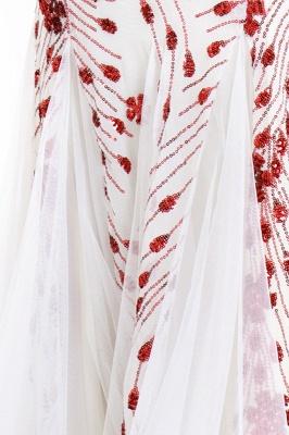 Cheap V-neck Long Prom Dresses   Sleeveless Floor Length A-line Evening Dresses_11