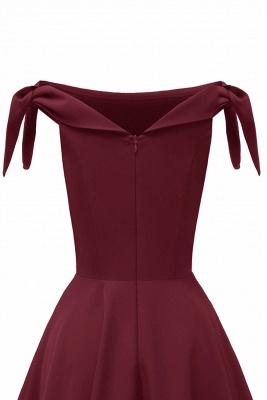 Womens Bateau Burgundy Navy Ruby Vintage Dresses_26