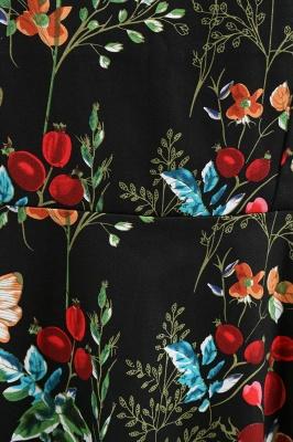 Wonderful Scoop Sleeveless A-line Zipper Fashion Dresses | Knee-Length Women's Dresses_13