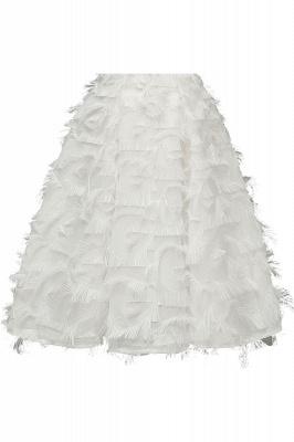 Artificial Fur Cap Sleeve Princess Short Homecoming Dress_19