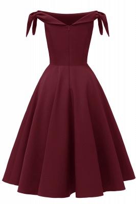 Womens Bateau Burgundy Navy Ruby Vintage Dresses_24