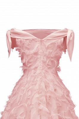 Stunning A-line Artificial Fur Retro Short Party Dress_11
