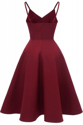 Stunning Spaghetti Straps Sleeveless Princess Vintage Dresses_12