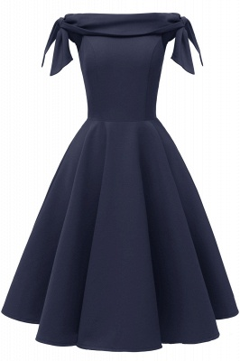 Womens Bateau Burgundy Navy Ruby Vintage Dresses_9