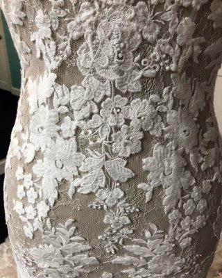 Beautiful Lace Mermaid Wedding Dresses_4