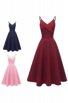 Stunning Spaghetti Straps Sleeveless Princess Vintage Dresses_16
