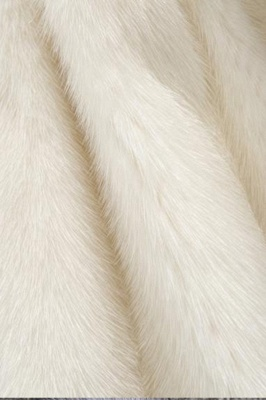 Women's Fashion Hooded White Fox Fur Coat_20