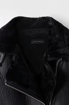 Women's Winter Velvet Pu Leather Jacket_12