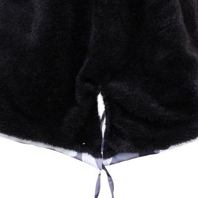 Camo Military Premium Fur Trim Parka Coat with Faux Fur Hood_29