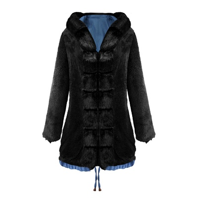 Parka Coat with Premium Fur Trim and Faux Fur Hood_22