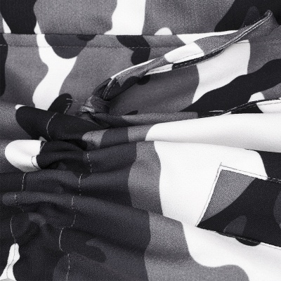 Camo Military Premium Fur Trim Parka Coat with Faux Fur Hood_20