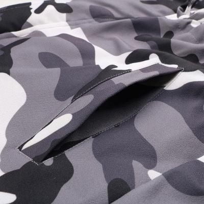 Camo Military Premium Fur Trim Parka Coat with Faux Fur Hood_14