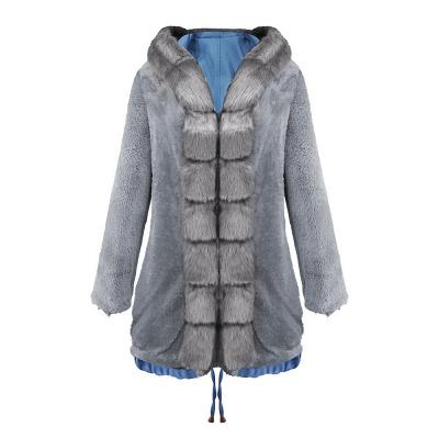 Parka Coat with Premium Fur Trim and Faux Fur Hood_30