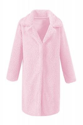 Women Thick Winter Faux Shearling Taffeta Coat_1