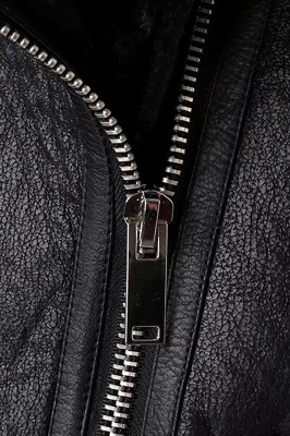 Women's Winter Velvet Pu Leather Jacket_9